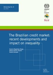 The Brazilian credit market recent developments and impact on inequality