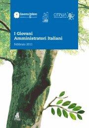 I Giovani Amministratori Italiani - Febbraio 2011 - Anci