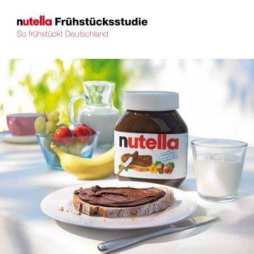 Frühstücksstudie - Nutella