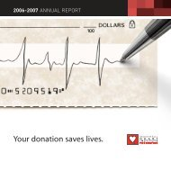 Your donation saves lives. - Montreal Heart Institute Foundation
