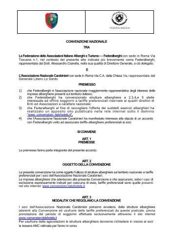 clicca qui - Associazione Nazionale Carabinieri