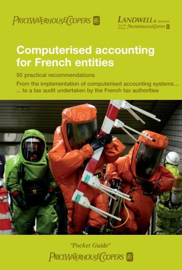 Computerised accounting for French entities