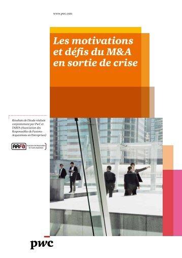 Les motivations et défis du M&A en sortie de crise