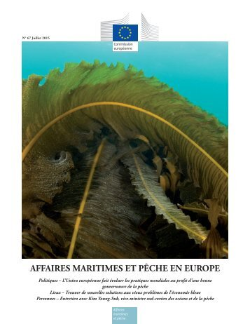 AFFAIRES MARITIMES ET PÊCHE EN EUROPE
