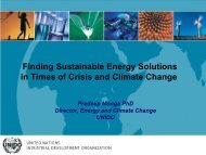 Finding Sustainable Energy Solutions in Times of Crisis and Climate Change