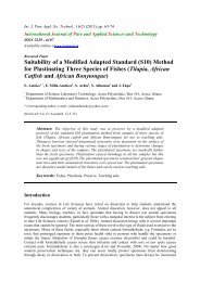 Suitability of a Modified Adapted Standard (S10) Method for ...