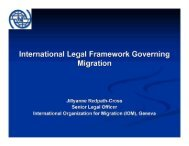 Ms. Jillyanne Redpath-Cross, Senior Legal Officer, IOM