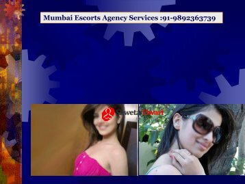 Mumbai Escorts Agency Services 91-9892363739