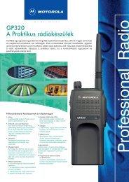 GP320 A Praktikus rádiókészülék