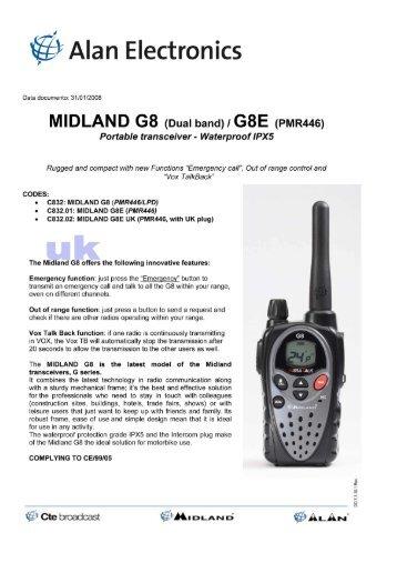 MIDLAND G8