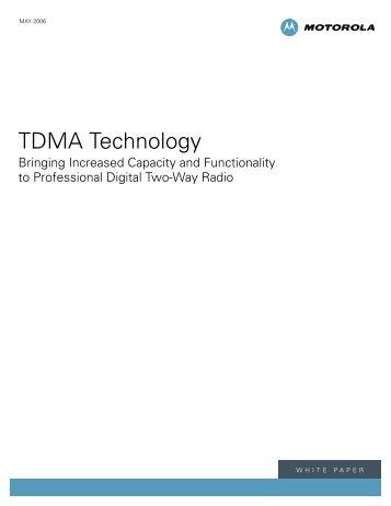TDMA Technology