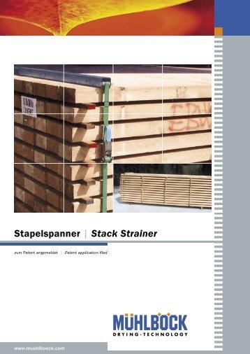 Stapelspanner | Stack Strainer