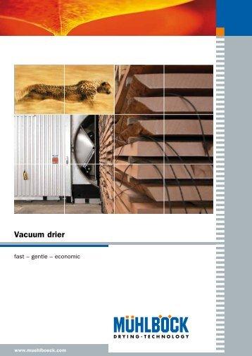 Vacuum drier