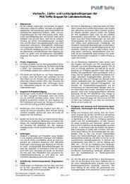 AGB Lohnbearbeitung - PVA TePla AG