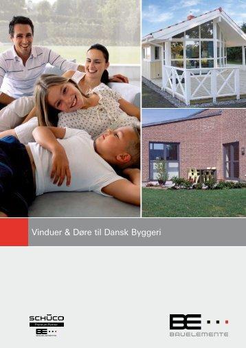 Vinduer & Døre til Dansk Byggeri