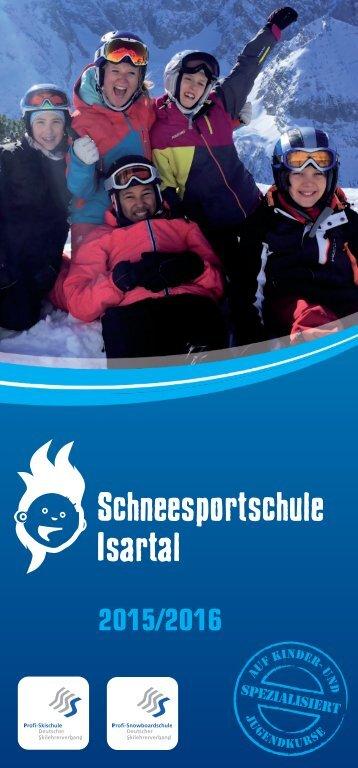 Schneesportschule Isartal Prospekt 2015/2016
