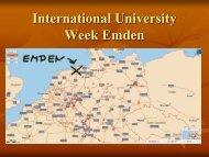 International University Week Emden