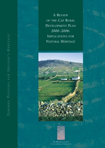 RURAL DEVELOPMENT PLAN - The Heritage Council