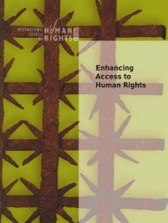 Enhancing Access to Human Rights - The ICHRP