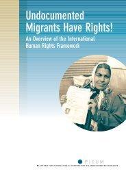Undocumented Migrants Have Rights! - PICUM