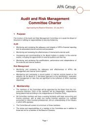 Audit and Risk Management Committee Charter nonexecutive