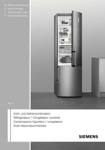 Kühl- und Gefrierkombination Réfrigérateur ... - Wehkamp.nl