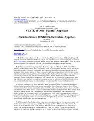 STATE of Ohio Plaintiff-Appellant v Nicholas Steven JENKINS Defendant-Appellee