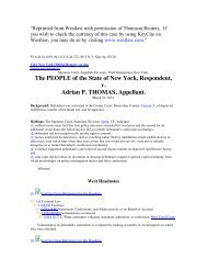The PEOPLE of the State of New York Respondent v Adrian P THOMAS Appellant
