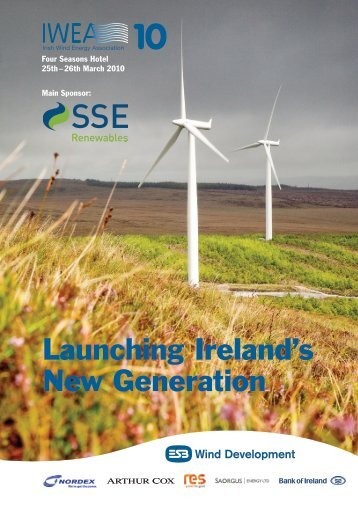 Conference Brochure - Irish Wind Energy Association