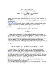 Supreme Court of Kentucky. Glenn Anthony HUDSON Appellant v ...