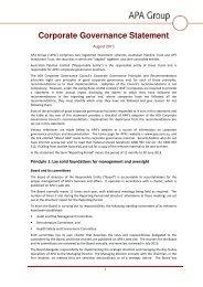 Corporate Governance Statement
