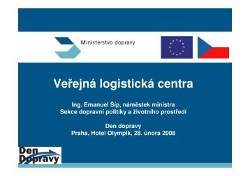 Veřejná logistická centra
