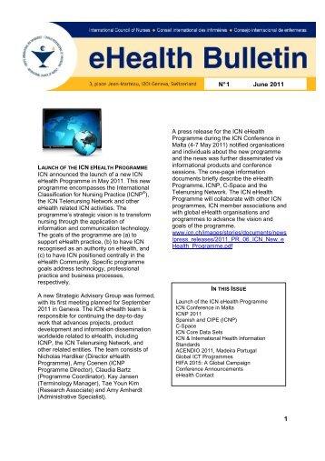 ehealth bulletin june 2011