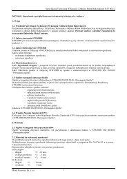 Specyfikacja Techniczna Wykonania i Odbioru Robót Budowlanych ...