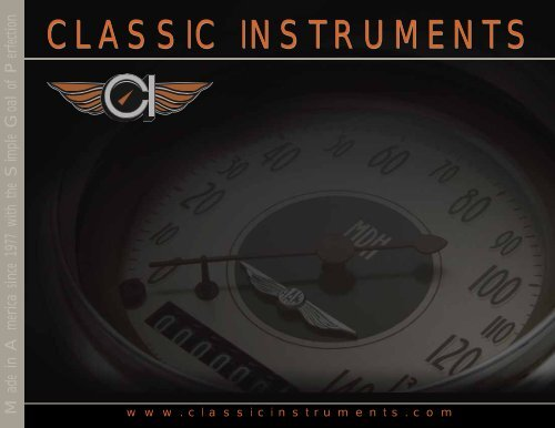 classic instruments  pulse generator gm ford new speedo