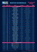 match schedule - Page 2