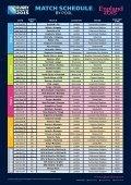 match schedule - Page 3
