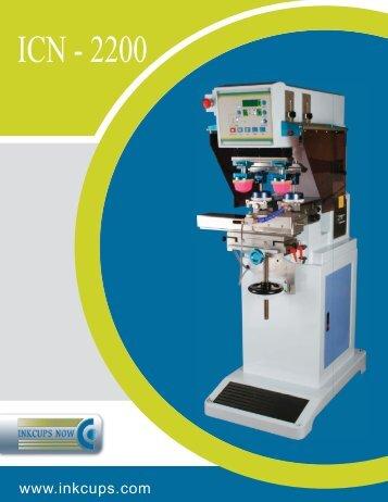 ICN-2200 - 2 Color Pad Printer