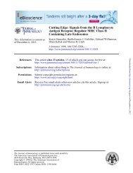 Cutting Edge: Signals from the B Lymphocyte Antigen Receptor ...