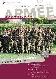 a c t u a l i t é s - Logistikbasis der Armee LBA - admin.ch