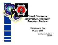Small Business Innovative Research Process Review