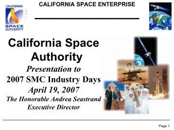 California Space Authority
