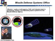 Missile Defense Systems Office