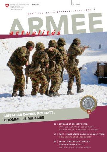 actualités - Logistikbasis der Armee LBA