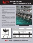 Moline Portable Donut Hole Removal Unit - Page 2