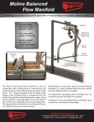 Moline Balanced Flow Manifold
