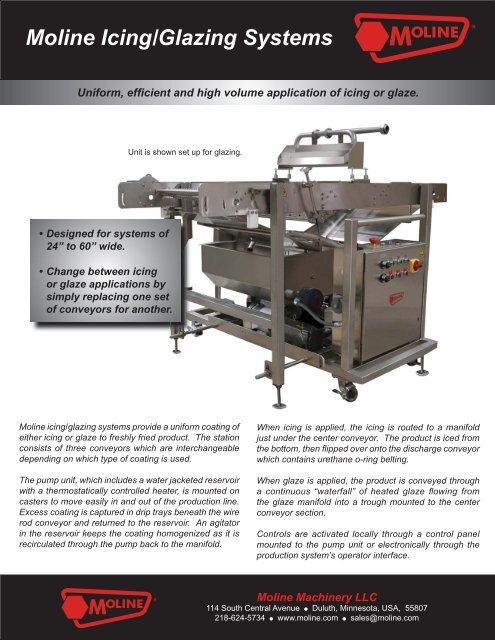 Moline Icing/Glazing Systems