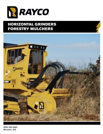 HORIZONTAL GRINDERS FORESTRY MULCHERS