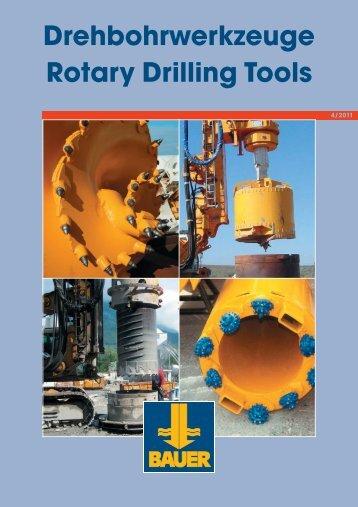 Drilling bucket