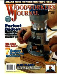 Adjustable Dado Jig - Consulting Woodworker